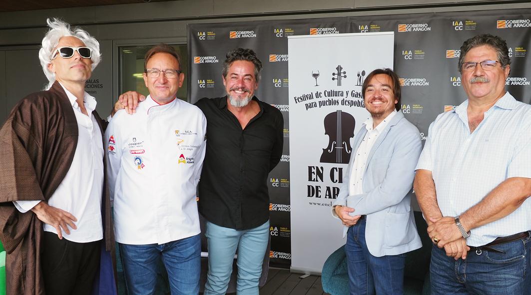 Presentación en el IAACC Pablo Serrano del Festival En Clave de Aragón