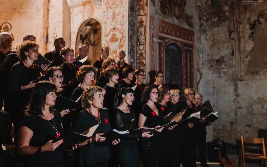 El Coro de Sobrarbe emocionará en Palo con motivo de En Clave de Aragón 2019