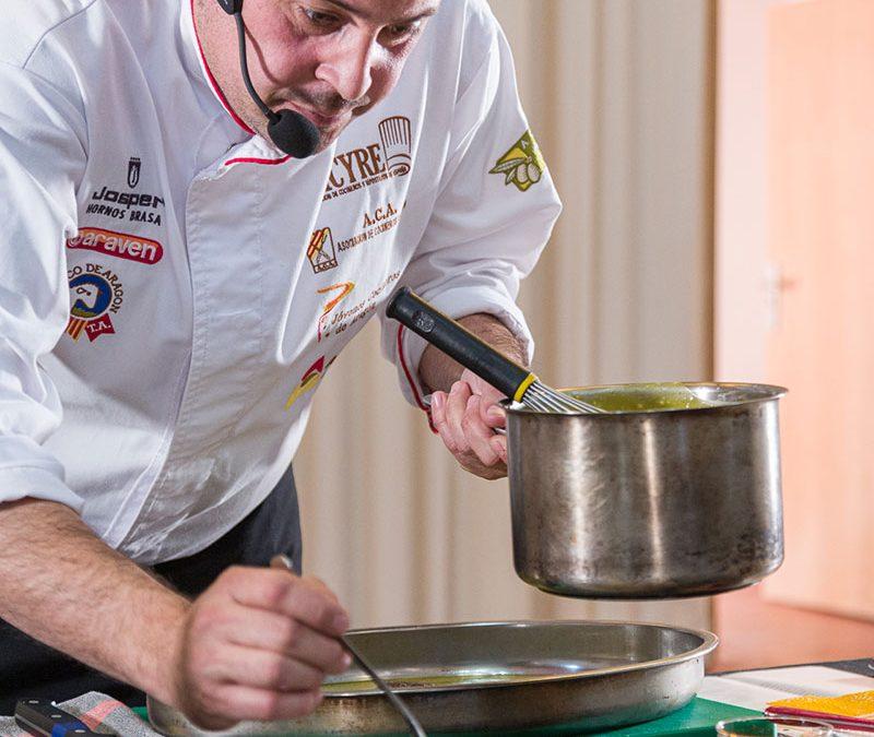 El vicepresidente de ACA, Eduardo Comín, cocinará en directo en Palo