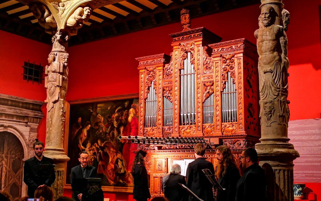 Concierto en Palo de la Schola Cantorum Paradisi Portae, gregoriano en esencia