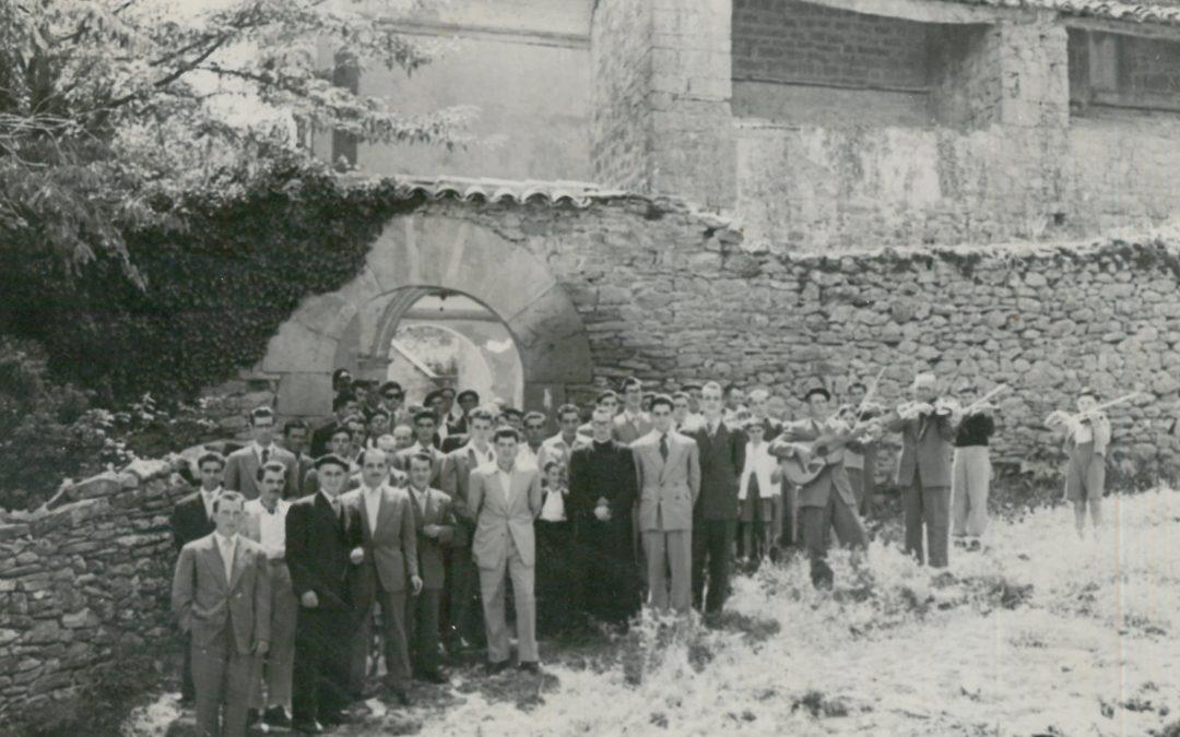 La música regresa a la Iglesia de Palo 50 años después… de esta imagen