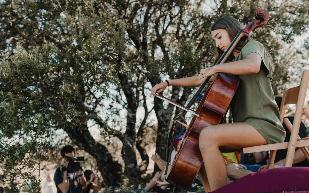 El domingo 27 tenemos una cita con el  violonchelo de Alejandra Marquina
