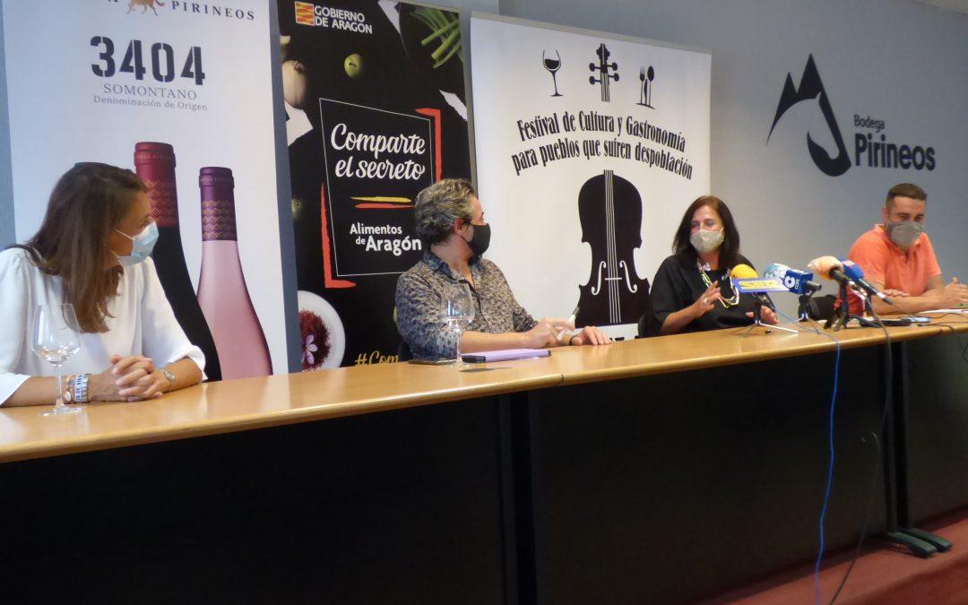"""""""En Clave de Aragón pone en valor a los productores locales y no debemos olvidar que la gastronomía es un reclamo turístico"""""""
