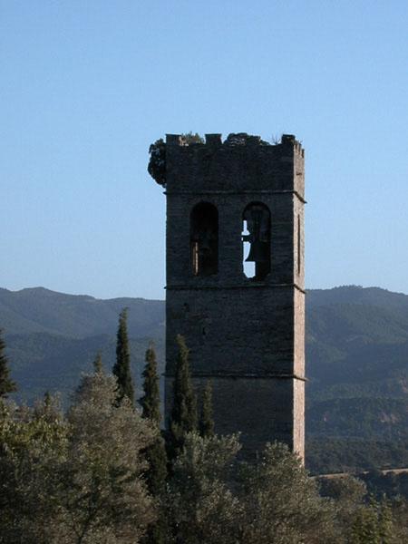 Torre de la antigua iglesia parroquial